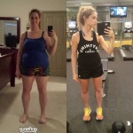 My client, Kate - Before and now.